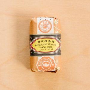 Bee & Flower Brand Sandalwood Soap